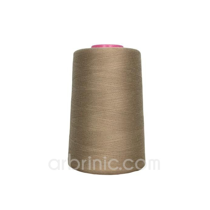 Polyester Serger and sewing Thread Cone (4573m) Coffee