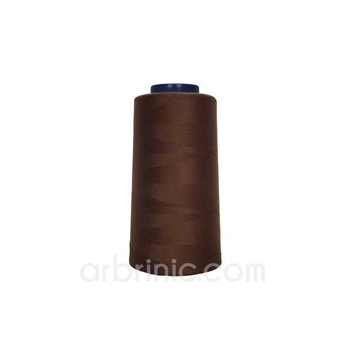 Polyester Serger and sewing Thread Cone (2743m) Brown
