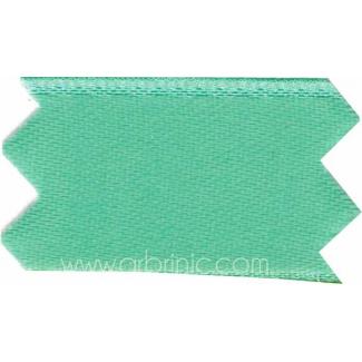 Ruban Satin double face 25mm Turquoise (au mètre)