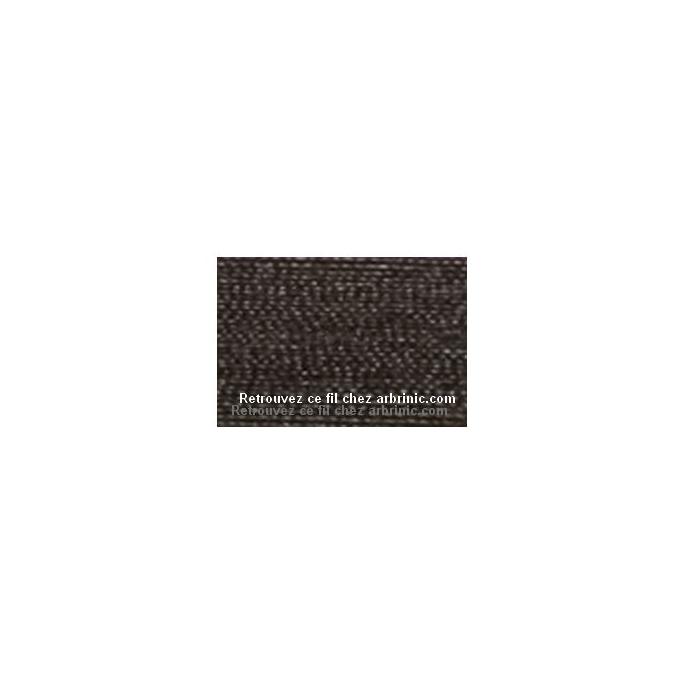 Mettler Polyester Sewing Thread (200m) Color #1002 Very Dark Bro