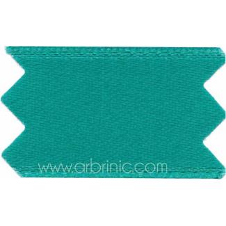 Ruban Satin double face 11mm Turquoise Foncé (au mètre)