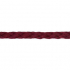 Braided Poly Cord 5mm Burgundy (by meter)