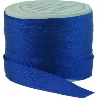 Ruban Soie 7mm Bleu Roi (bobine 10m)