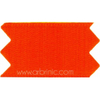 Satin Ribbon double face 25mm Orange (by meter)