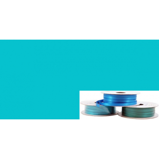 Ruban Satin 6mm Aqua (rouleau 20m)