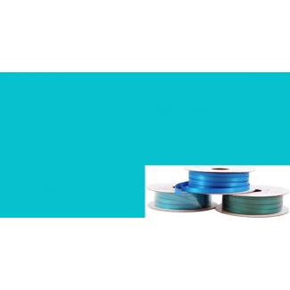 Satin Ribbon 6mm Aqua (20m roll)