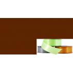 Satin Ribbon 25mm Dark Brown (20m roll)