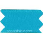 Ruban Satin double face 11mm Bleu Aqua (au mètre)