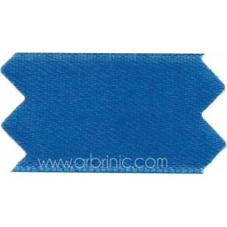 Ruban Satin double face 11mm Bleu Roi (au mètre)