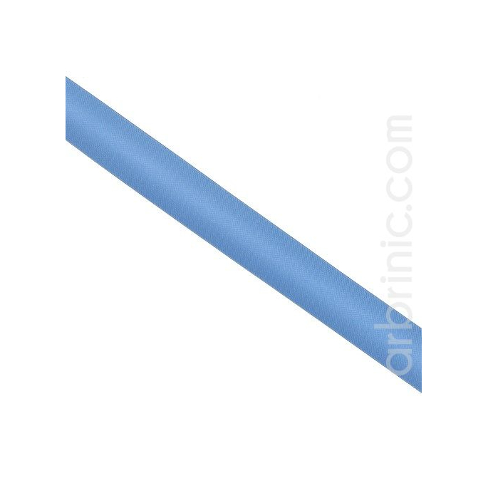 Biais Satin 20mm Bleu de France (au mètre)