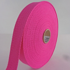 Cotton Webbing 30mm Pink (by meter)