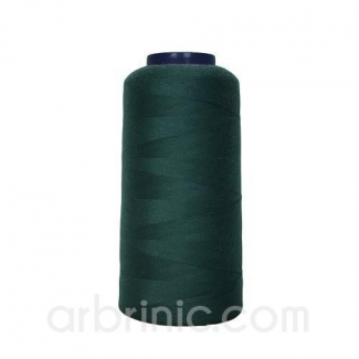 Polyester Serger and sewing Thread Cone (2743m) Chrome Green