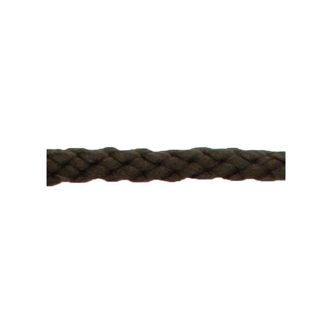 Braided Poly Cord 5mm Dark Brown (by meter)