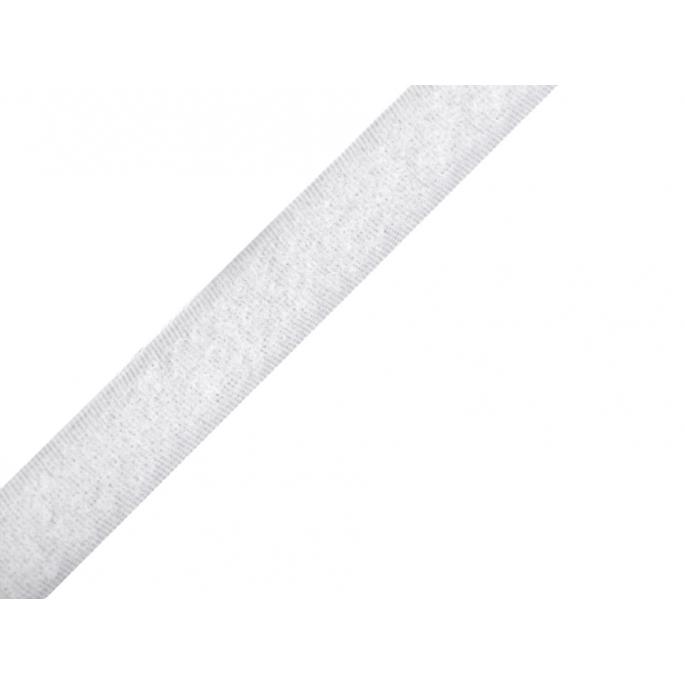 Scratch 3.8cm BOUCLE seule Blanc (au mètre)