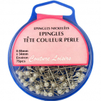 Berry Pins with Pearl Color Head 34mm (x75)