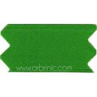 Ruban Satin double face 11mm Vert Trèfle (au mètre)