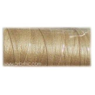 Fil polyester QA 500m Couleur 370 Cacahuète