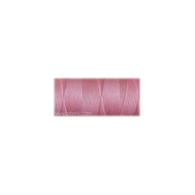 Fil polyester QA 500m Couleur 180 Rose Princesse