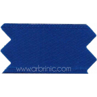 Satin Ribbon double face 25mm Navy Blue (by meter)