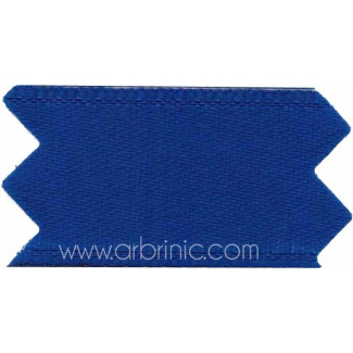 Ruban Satin double face 25mm Bleu Marine (au mètre)