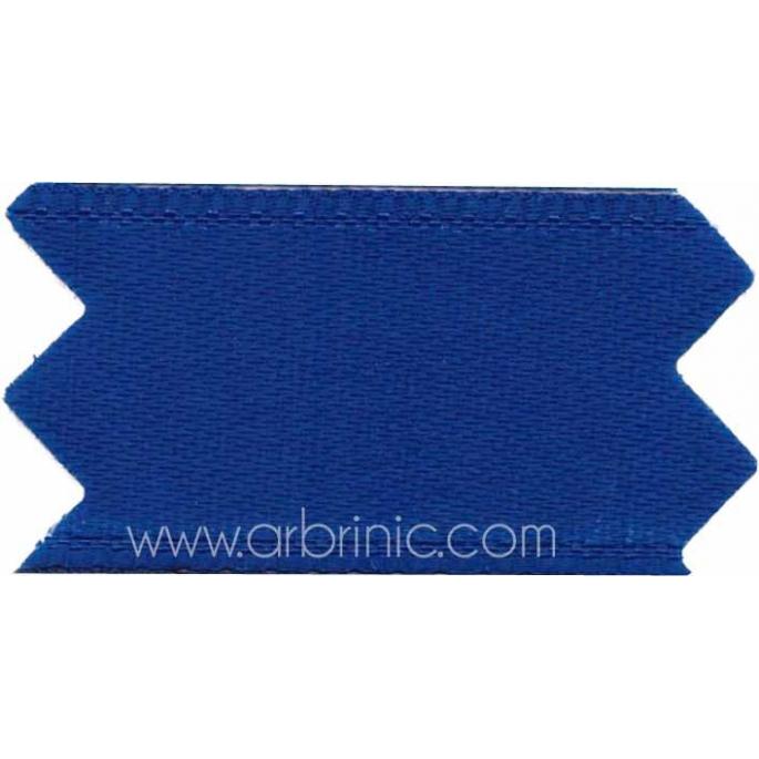 Ruban Satin double face 25mm Bleu Marine (au mètre)