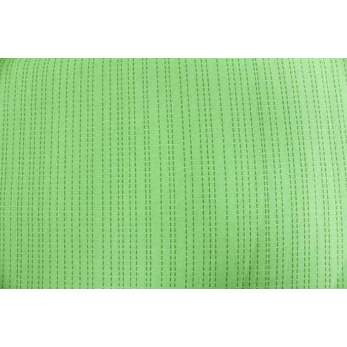 Coton imprimé Stitch Vert Michael Miller par 10cm