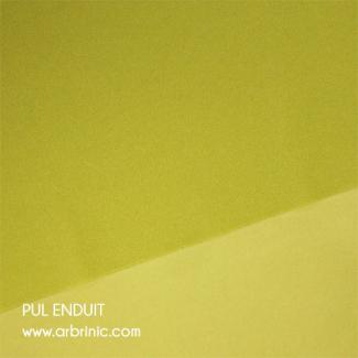 PUL Oekotex Enduit Vert Celeri (par 10cm)