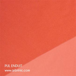 PUL Oekotex Enduit Abricot (par 10cm)