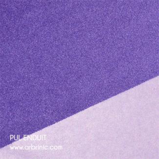 PUL Oekotex Enduit Violet (par 10cm)