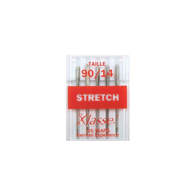Aiguilles Machine Stretch 90/14 (x5)