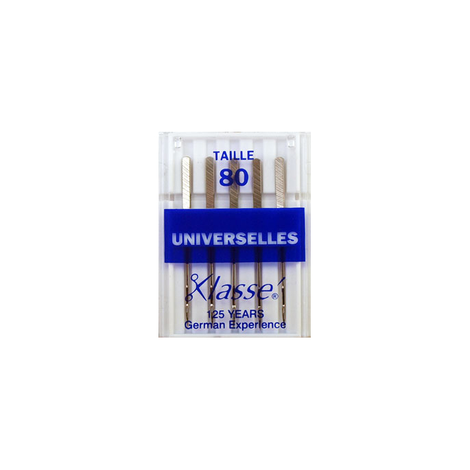Aiguilles Machine Universelles 80/12 (x5)