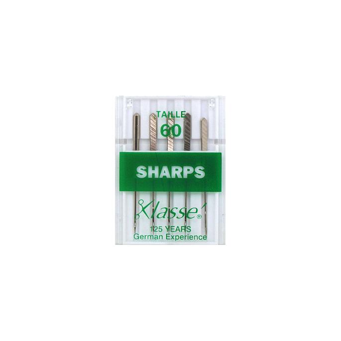 Aiguilles Machine Sharp 60/8 (x5)