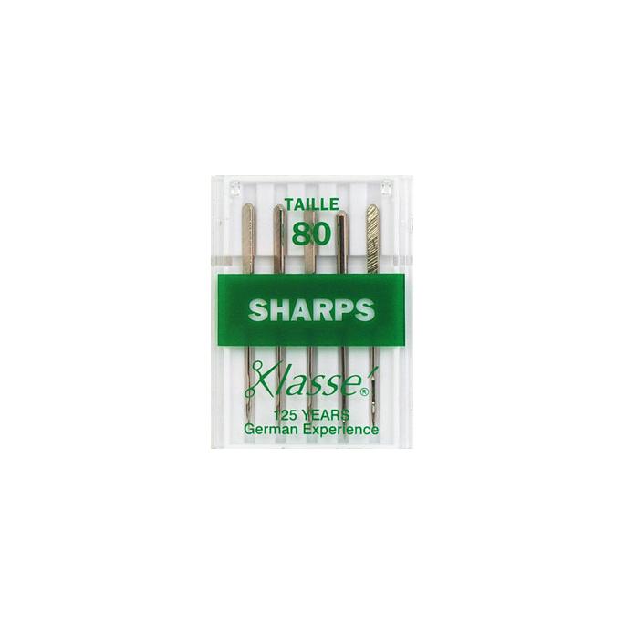 Aiguilles Machine Sharp 80/12 (x5)