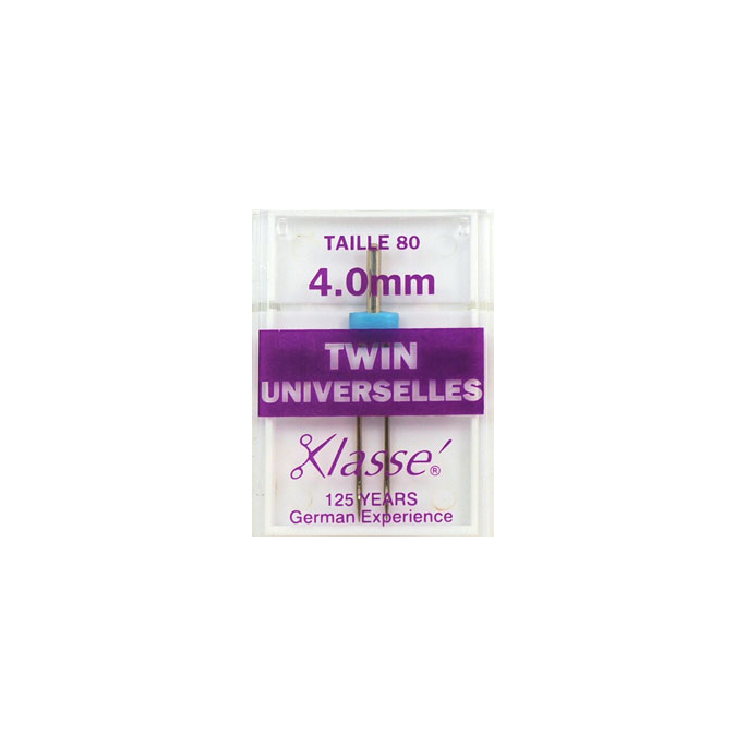 Aiguilles Machine Doubles Universelles 4.0mm 80/12