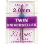 Aiguilles Machine Doubles Universelles 2.0mm 80/12