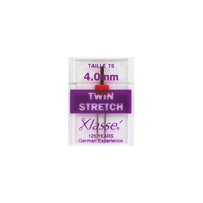 Machine Twin needles Stretch 4.0mm 75/10