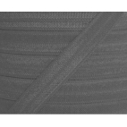Shinny Fold Over Elastic Oekotex 15mm Grey (by meter)