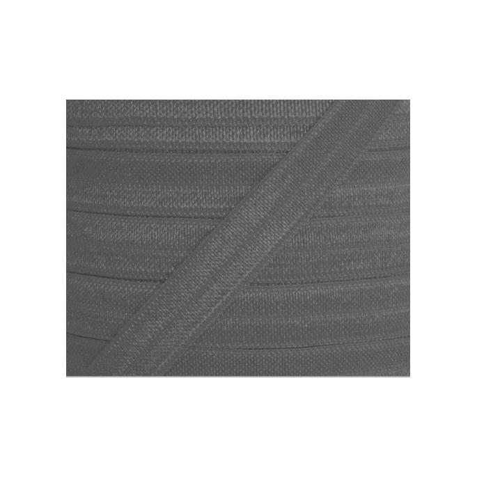 Biais élastique lingerie Oekotex 15mm gris (au mètre)