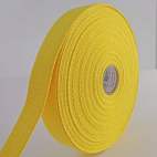 Cotton Webbing 23mm Yellow (by meter)