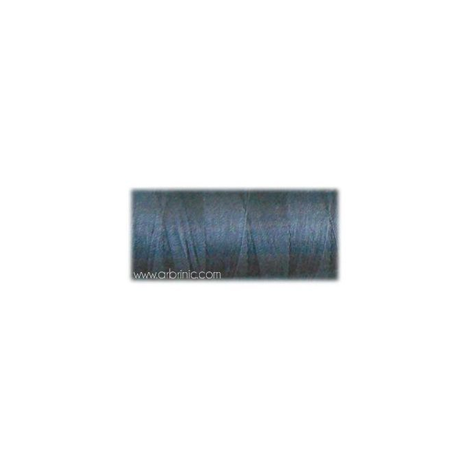 Fil polyester QA 500m Couleur 420 Bleu Gris