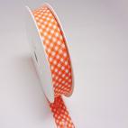 Single Fold Bias Check Orange 20mm (by meter)