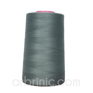 Polyester Serger and sewing Thread Cone (4573m) Iron Grey