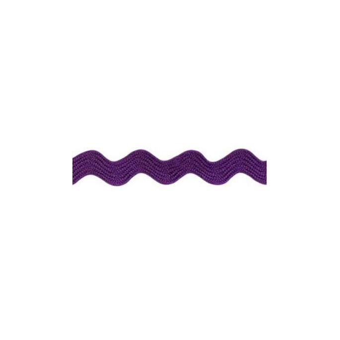 Croquet zigzag 6mm Violet (au mètre)