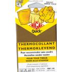 Pièce thermocollante NIGAL Quick - percale coton Marron Clair