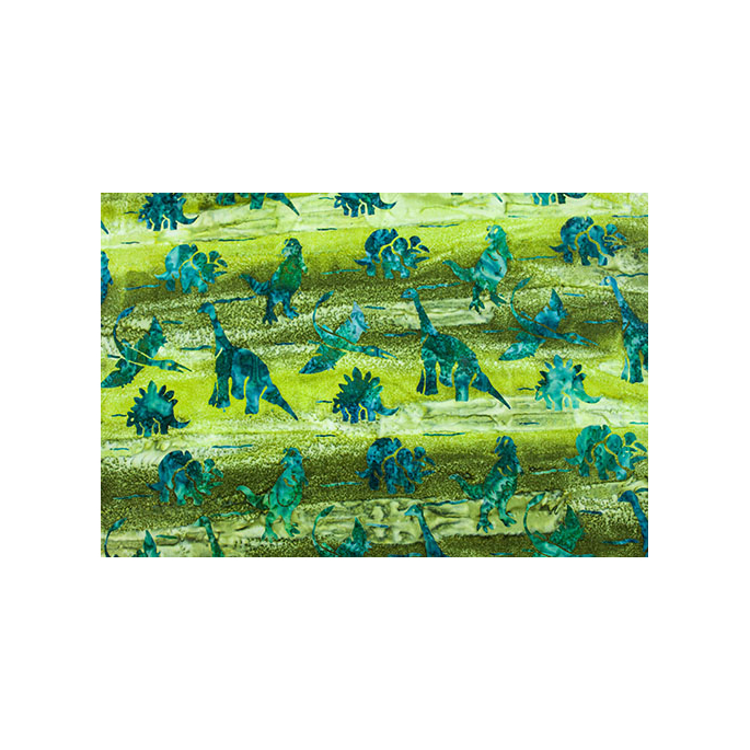 Cotton Green Dinos (per 10cm)