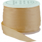 Silk Ribbon 7mm Peach (10m spool)