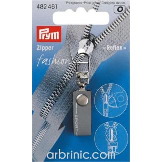 Zip puller Sports Grey PRYM