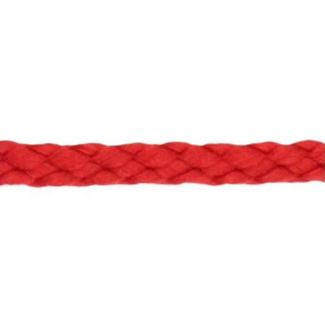 Braided Poly Cord 5mm Red (by meter)