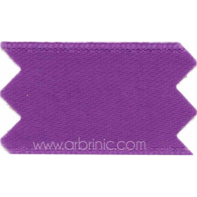 Ruban Satin double face 25mm Violet (au mètre)