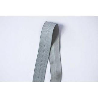 Biais élastique 2.5cm Grey (1m)
